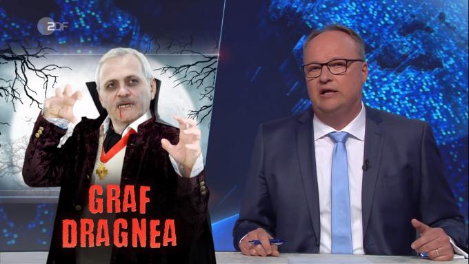 Dragnea, ironizat la o televiziune germană