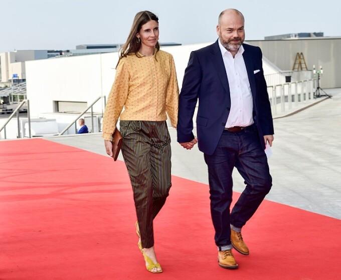 Anders Holch Povlsen și soția lui Anne