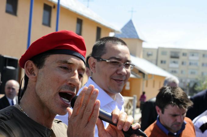Victor Ponta, Radu Mazare