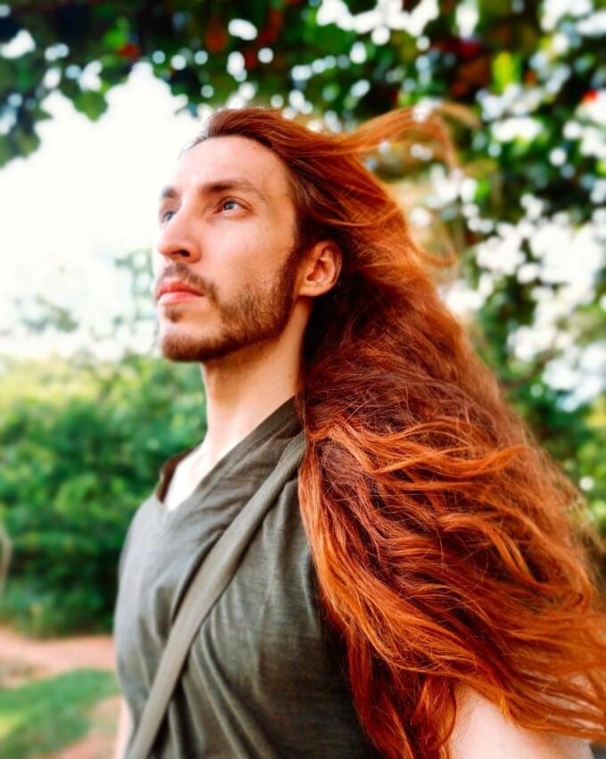 """Cum arată """"bărbatul Rapunzel"""" - 3"""