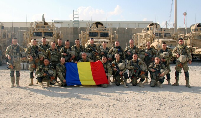 Soldați români în Afganistan