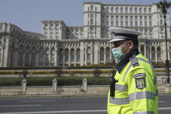 Parlament, Romania, politie