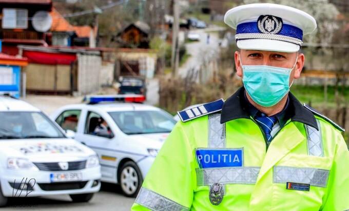 politist coronavirus