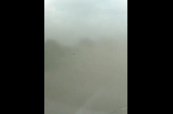 Furtună de nisip în România. Unde au fost surprinse imaginile