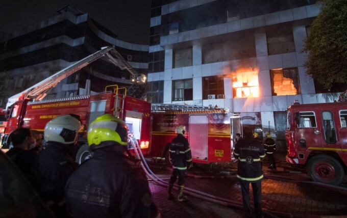 Incendiu la un spital din India