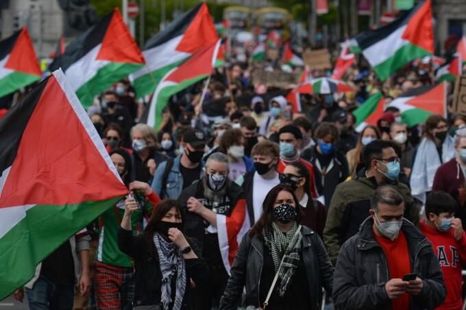Manifestații pro-palestiniene - 1