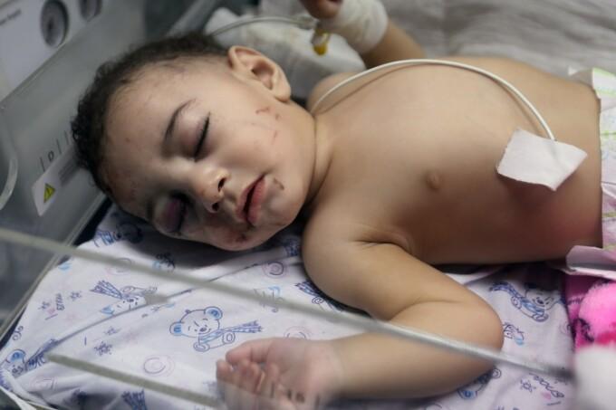 bebelus, Fasia Gaza, Israel