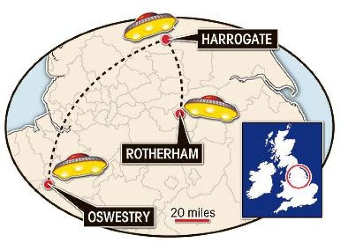 Extraterestrii, in turneu prin UK! Trei orase vizitate in doua saptamani