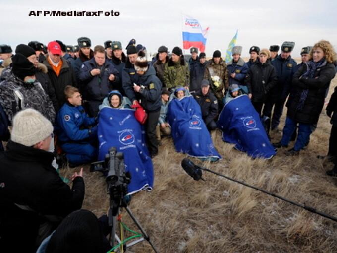 Echipajul navei Soyuz