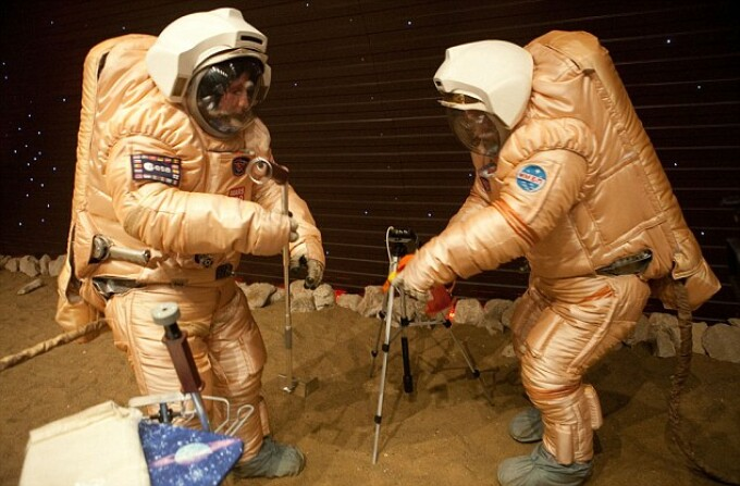 simulare Marte