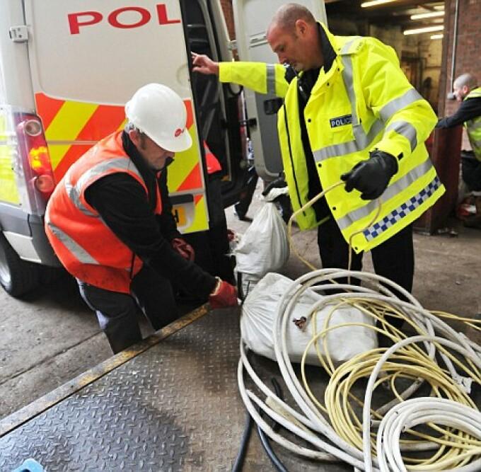 cabluri furate