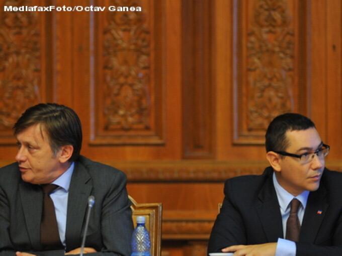 USL - Crin Antonescu si Victor Ponta
