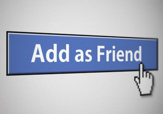 Add friend Facebook