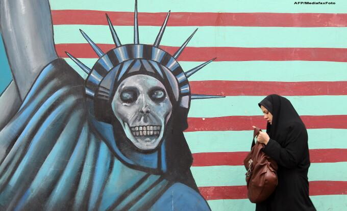 Pictura murala in Iran