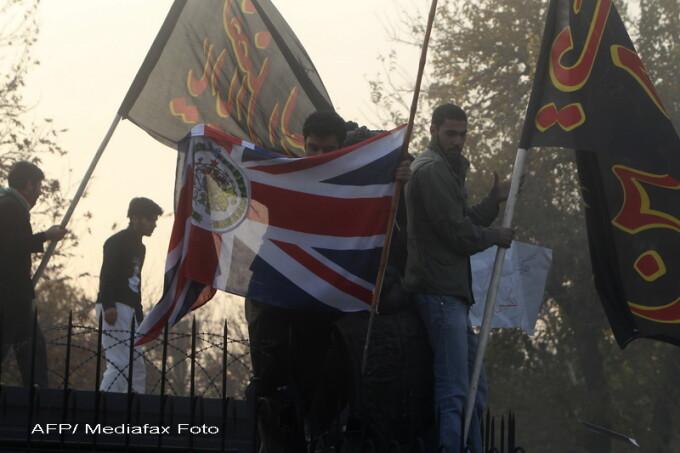 atac ambasada Marii Britanii la Teheran