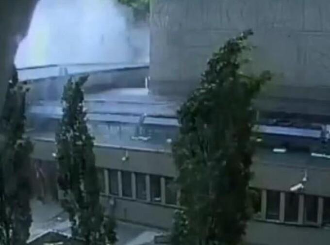 Explozia provocata de Breivik
