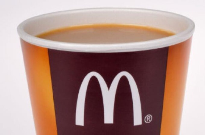 cafea McDonald's