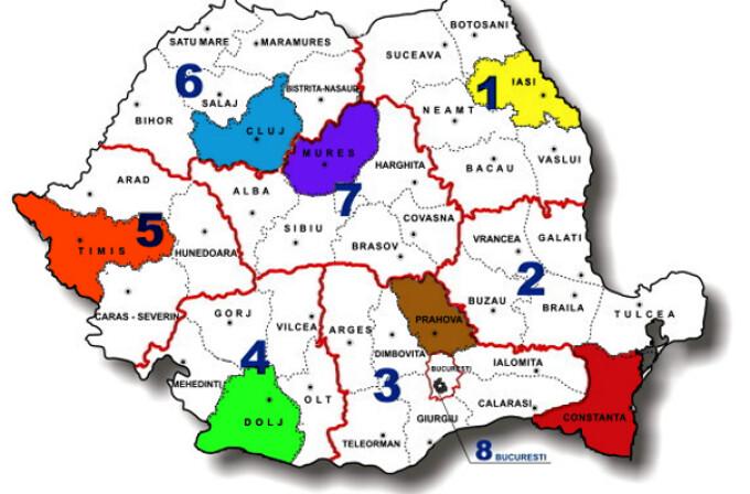 Cum Va Arata Harta Regionalizata A Noilor Directii De Sanatate