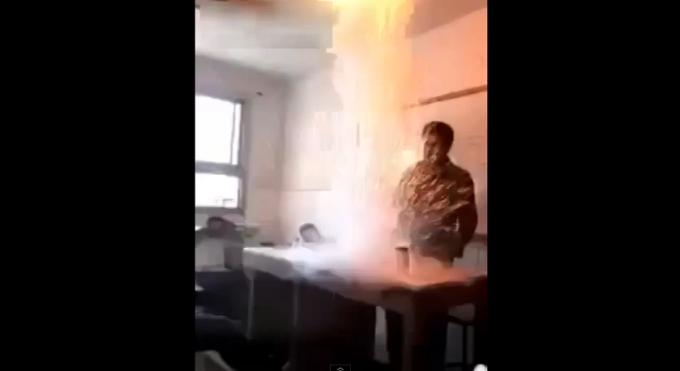 explozie ora de chimie