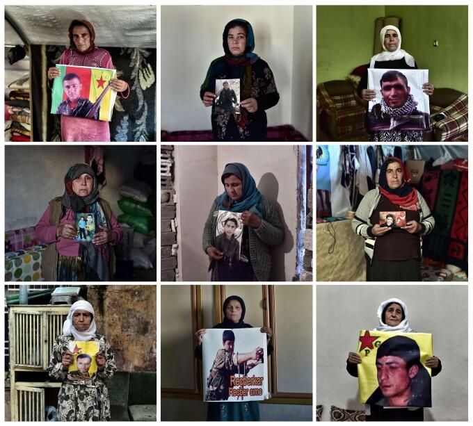 mame luptatori kurzi siria
