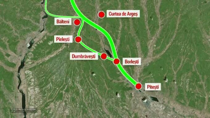 Cele 5 Variante De Traseu Pentru Autostrada Pitesti Sibiu