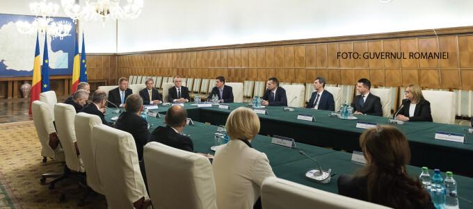 sedinta de Guvern Iohannis Ciolos Cimpeanu