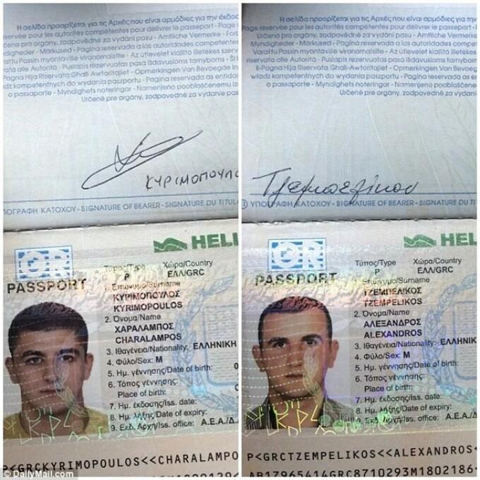 sirieni cu pasapoarte grecesti