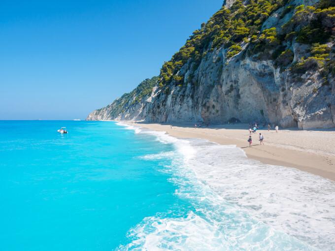 plaja Egremni, Lefkada - Shutterstock