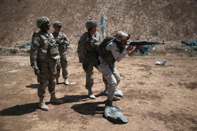 soldati americani - Getty