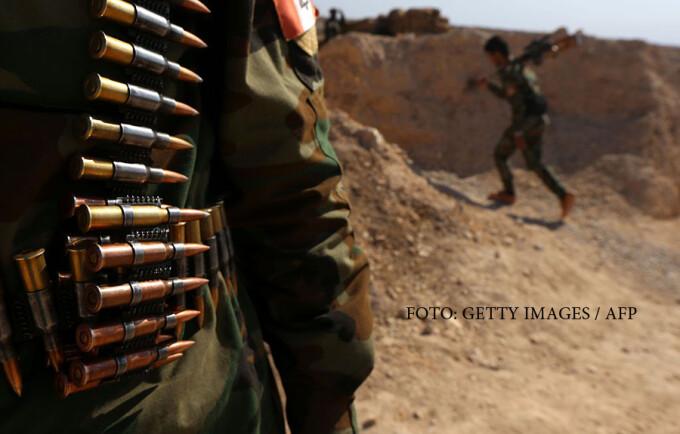 luptatori kurzi din SDF