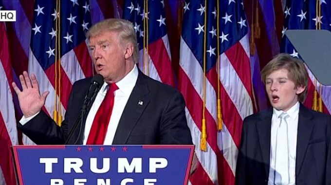 Donald Trump si Baron Trump