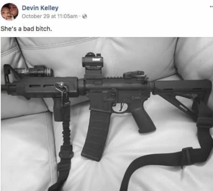 Devin Kelley, atac armat, biserica texas, mesaj facebook,