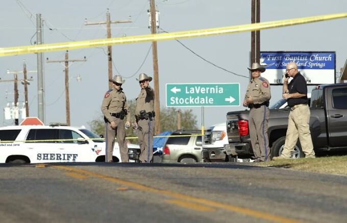 Atac armat în Texas