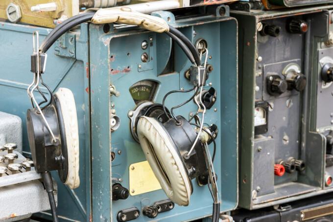 radio militar vechi