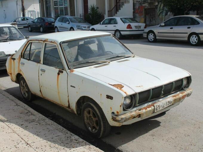 Mașină pierdută în parcare