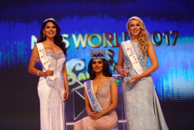 Miss India Manushi Chhilar a castigat Miss World 2017