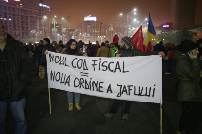 proteste Piața Victoriei, 26 noiembrie