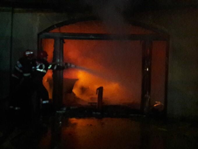 incendiu Dambovita