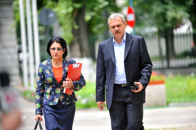 Ecaterina Andronescu, Liviu Dragnea