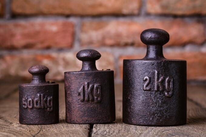 kilogram, greutati