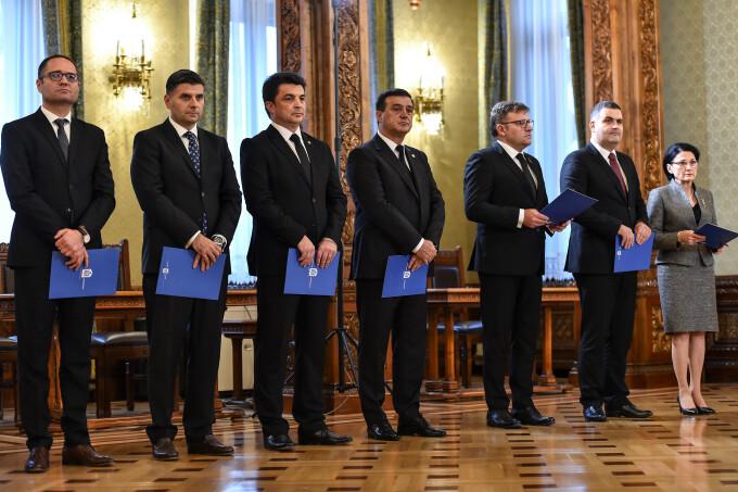 noii ministri ai cabinetului Dancila
