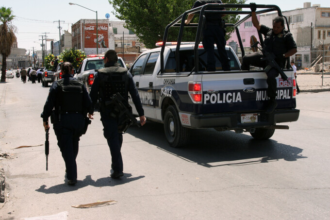 Poliția Mexicană