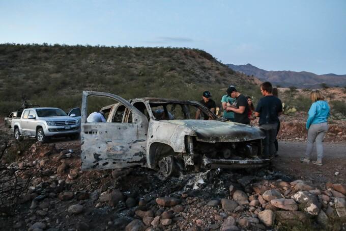 Locul masacrului din Mexic - 2