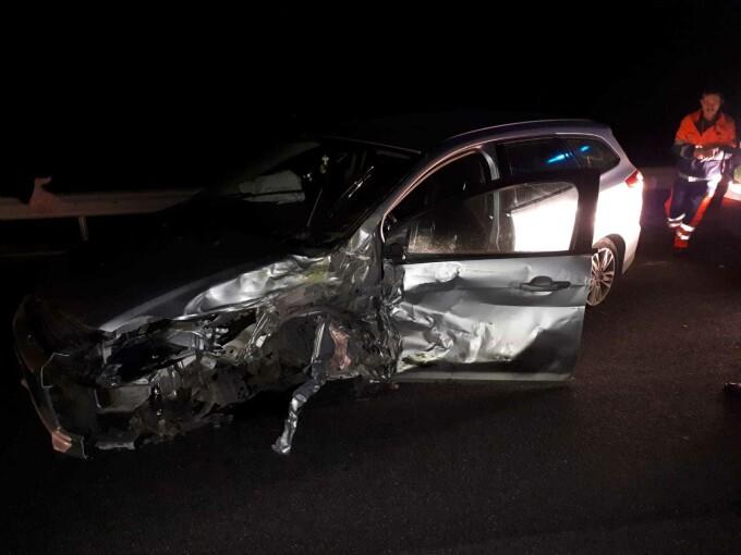 Accident cu 4 masini in Caransebes - 1