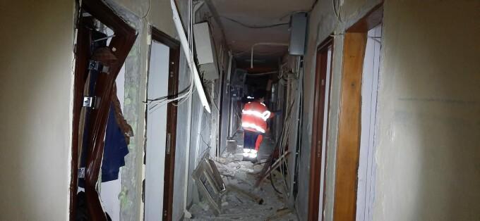 explozie bloc Tulcea