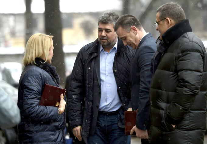 Marcel Ciolacu, Gabriela Firea, PSD