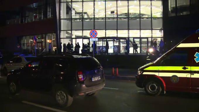 mall evacuat