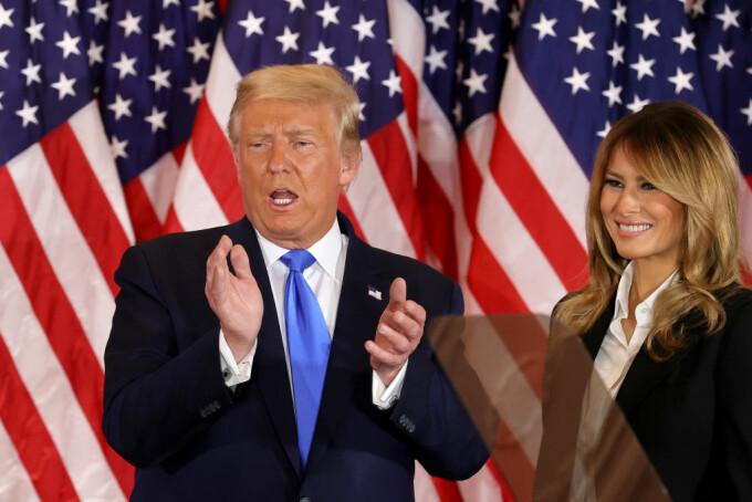 Donald Trump si Melania Trump
