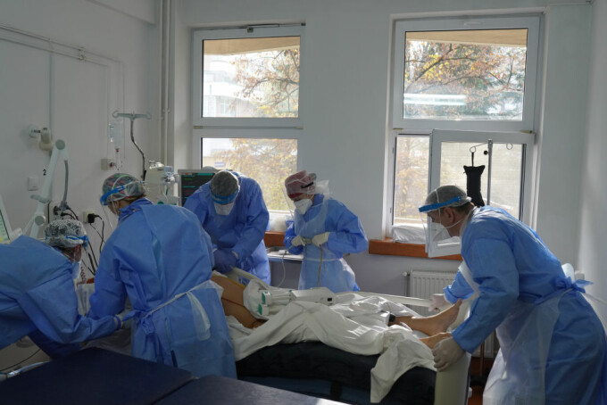 Coronavirus România, bilanț 19 noiembrie