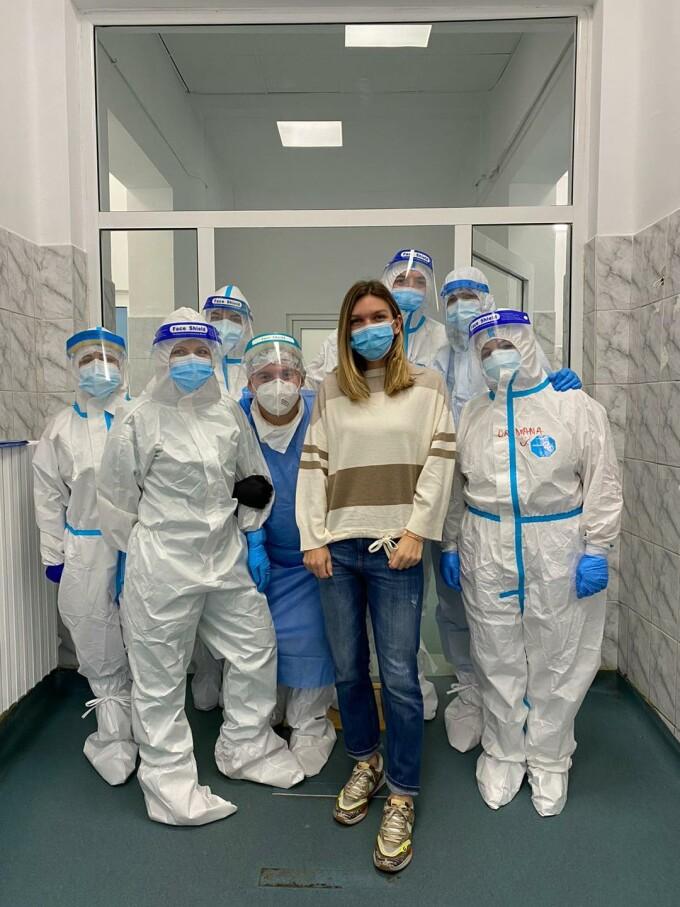 Simona Halep, despre cum a simțit infecția cu Covid-19: Am avut febră, dureri de cap și dureri musculare